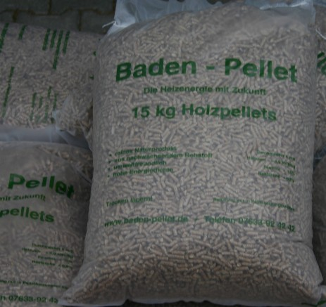 Holzpellets in 15 Kg Säcken